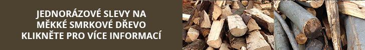akce - smrkové dřevo